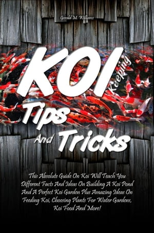 Koi Keeping Tips And Tricks This Absolute Guide On Koi Will Teach You Different Facts And Ideas On Building A Koi Pond And A Perfect Koi Garden Plus A