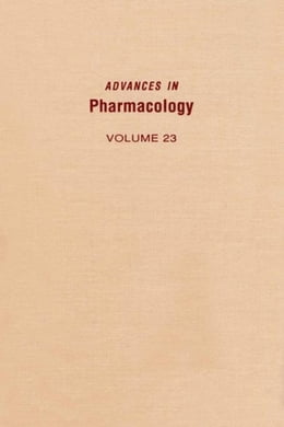 Book Advances in Pharmacology by August, J. Thomas