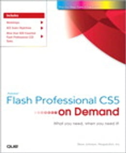 Book Adobe Flash Professional CS5 on Demand by Steve Johnson