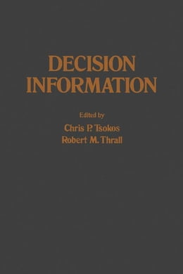 Book Decision Information by Tsokos, Chris