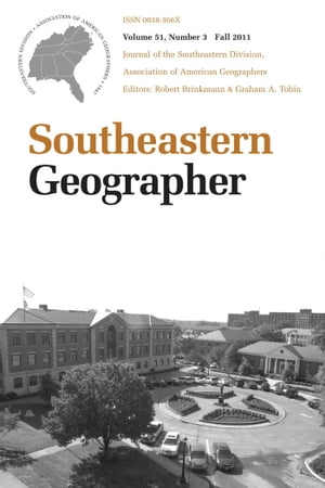 Southeastern Geographer Fall 2011 Issue