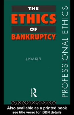 Book The Ethics of Bankruptcy by Kilpi, Jukka