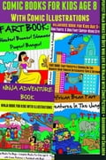 Comic Books For Kids Age 8 - Comic Illustrations - Ninja Books For Boys - Kid Ninjas 819b8408-bc62-43ae-b2ea-fef687ddb4a5