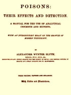 Poisons: Their Effects and Detection, Third Edition (1895): A Manual for the Use of Analytical Chemists and Experts by Alexander Wynter Blyth