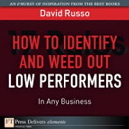 Book How to Identify and Weed Out Low Performers in Any Business by David Russo