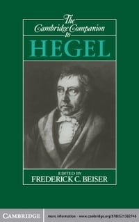 The Cambridge Companion to Hegel