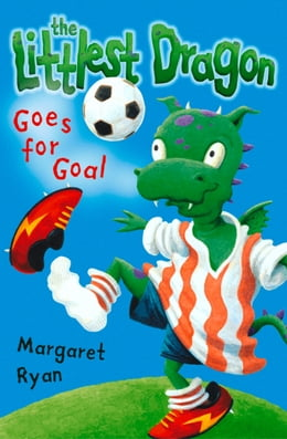 Book Littlest Dragon Goes for Goal by Margaret Ryan