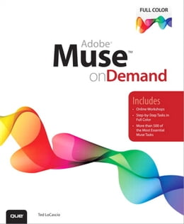 Book Adobe Muse on Demand by Ted LoCascio