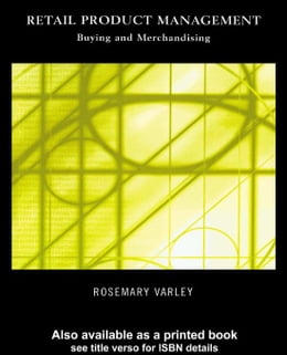 Book Retail Product Management by Varley, Rosemary