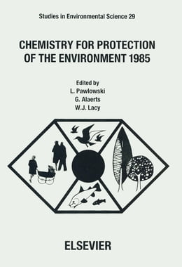 Book Chemistry for Protection of the Environment 1985 by Alaerts, G.