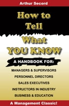 How to Tell What You Know by William Danforth