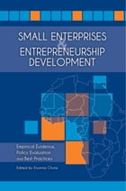 Small Enterprises and Entrepreneurship Development: Empirical Evidence, Policy Evaluation and Best…