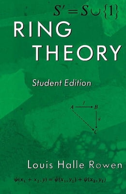 Book Ring Theory, 83: Student Edition by Louis H. Rowen