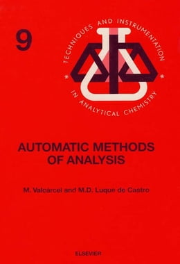 Book Automatic Methods of Analysis by Valcárcel, M.