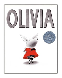 Book Olivia: with audio recording by Ian Falconer