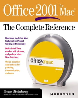 Book Office 2001 for Mac: The Complete Reference by Steinberg, Gene