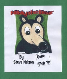 Nibly the Bear ~ Gone Fish 'in