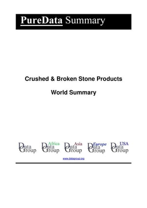 Crushed & Broken Stone Products World Summary: Market Values & Financials by Country
