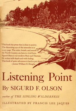Book LISTENING POINT by Sigurd F Olson