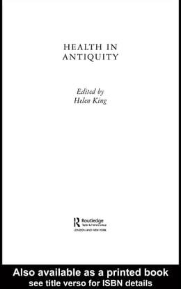 Book Health in Antiquity by King, Helen