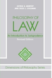 Philosophy Of Law: An Introduction To Jurisprudence