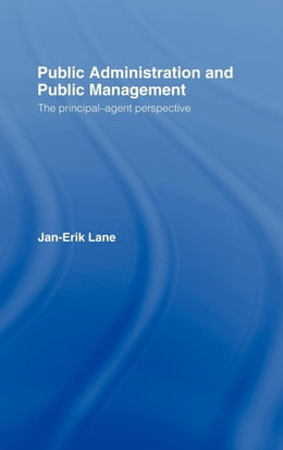 Book Public Administration & Public Management by Lane, Jan-Erik