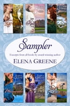 Sampler: Excerpts from all books by award-winning author Elena Greene by Elena Greene