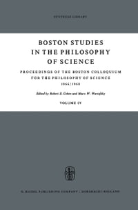 Proceedings of the Boston Colloquium for the Philosophy of Science 1966/1968