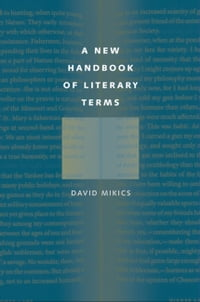A New Handbook of Literary Terms