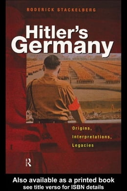 Book Hitler's Germany by Stackelberg, Roderick