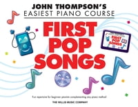 First Pop Songs (Songbook): Elementary Level