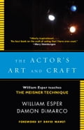 The Actor's Art and Craft cbee1d12-3df0-4594-ae59-40cf920cd925