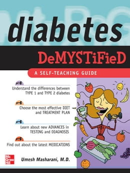 Book Diabetes Demystified: A Self-Teaching Guide by Masharani, Umesh