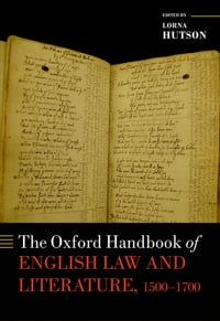 The Oxford Handbook of English Law and Literature, 1500-1700