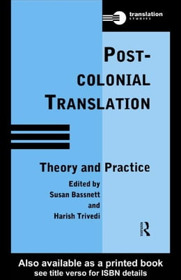 Book Postcolonial Translation by Bassnett, Susan