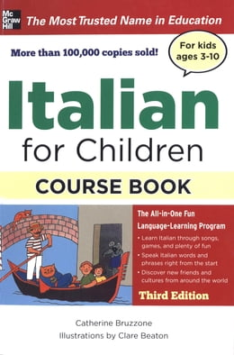 Book ITALIAN FOR CHILDREN, 3E by Catherine Bruzzone