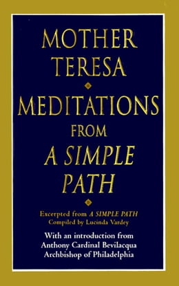 Book Meditations from a Simple Path by Mother Teresa