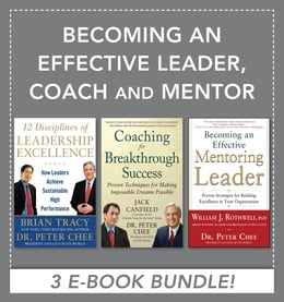 Book Becoming an Effective Leader, Coach and Mentor EBOOK BUNDLE by Brian Tracy