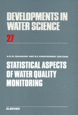 Book Statistical Aspects of Water Quality Monitoring by El-Shaarawi, A.H.