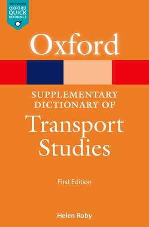 A Supplementary Dictionary of Transport Studies