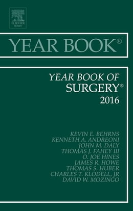 Book Year Book of Surgery 2016, by Kevin E. Behrns