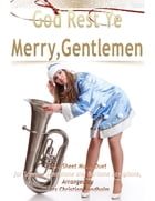 God Rest Ye Merry, Gentlemen Pure Sheet Music Duet for Soprano Saxophone and Baritone Saxophone, Arranged by Lars Christian Lundholm by Lars Christian Lundholm