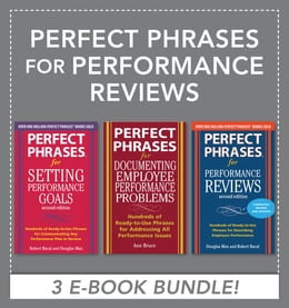 Book Perfect Phrases for Performance Reviews (EBOOK BUNDLE) by Douglas Max