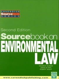 Sourcebook on Environmental Law