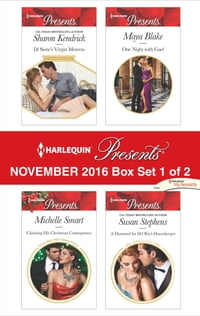 Harlequin Presents November 2016 - Box Set 1 of 2: Di Sione's Virgin Mistress\Claiming His…