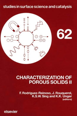Book Characterization of Porous Solids II by Unger, KK