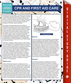 CPR And First Aid Care (Speedy Study Guides) by MDK Publishing