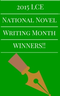 2015 LCE National Novel Writing Month Winners