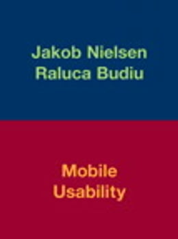 Book Mobile Usability by Jakob Nielsen