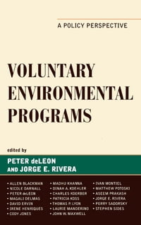 Voluntary Environmental Programs: A Policy Perspective